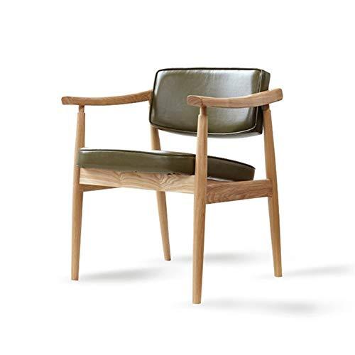 Apopp Home Kitchen Desk Sedie Sgabelli Sgabelli Nordic Legno Solido Moderna Poltrona Singola Coffee Shop Hotel Restaurant Desk Indietro Poltrona