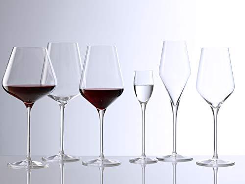 Bicchieri da vino rosso Bordeaux Stölzle Lausitz Quatrophil 644ml, set da 6, come soffiati a mano,...