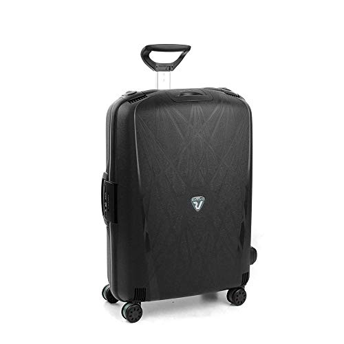 Roncato Light Trolley Grande - 4 Ruote, 75 Cm, 109 Litri, Nero