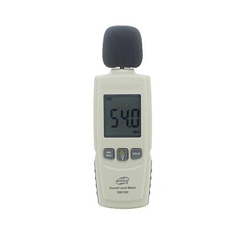 XCLUMA Sound Level Meters digital noise dosimeter GM1352 decible meter Max Min Lock current value