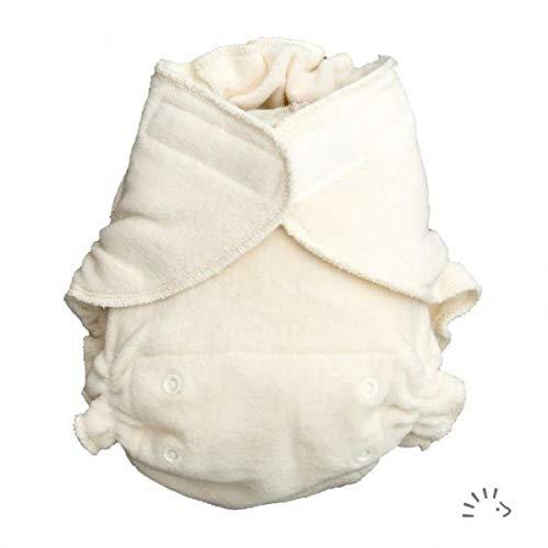 Popolini-Pannolino Ultra Fit Organic in spugna di cotone organico, taglia unica e chiusura in velcro