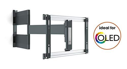 Vogel\'s THIN 546 OLED TV-Wandhalterung für 102-165 cm (40-65 Zoll) Fernseher, 180° schwenkbar, max 30 kg, VESA max 400 x 200, schwarz