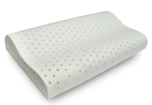 Moon Light Cuscino 100% Lattice a Doppia Onda per cervicale Tessuto aloe sfoderabile