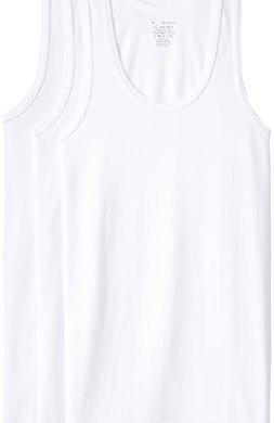 Jockey Men's Cotton Vest  (Pack of 3) (Modern Classic)(Colors & Print May Vary) 22