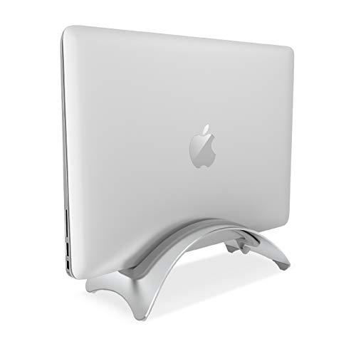 "Lamicall Supporto per PC Portatile, Supporto Laptop Notebook : Verticale Supporto Stand Dock per Apple 2018 MacBook Air, MacBook PRO, dell XPS, HP, Samsung, Lenovo, Altri 10""~17"" Notebooks - Argent"