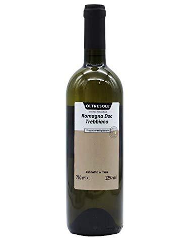 Vino bianco Trebbiano Romagna Doc 750 cl Oltresole