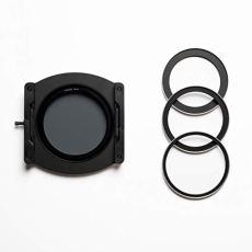 Ikan NiSi nip-100-v5pro 100mm soporte de filtro con adaptador CPL y anillos, color negro
