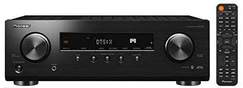 Pioneer VSX-834 7.2-CH AV Receiver with 5.2.2ch Dolby Atmos, DTS:X, Dolby Atmos Height Virtualizer, DTS Virtual:X, Dialog Enhancement, Bluetooth, 4K Ultra HD Upscaling, HDCP 2.2, HDR10, Dolby Vision