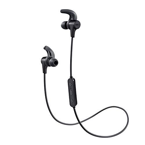 AUKEY Cuffie Bluetooth Sport, Auricolari Wireless in Ear con 8 Ore di Tempo di Utilizzo, Resistente...