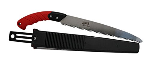 The Wilkinson Sword Pruning Saw is the winner of our best pick as ita probably one of the best pruning saws we have reviewed and it comes with a 10 year guarantee