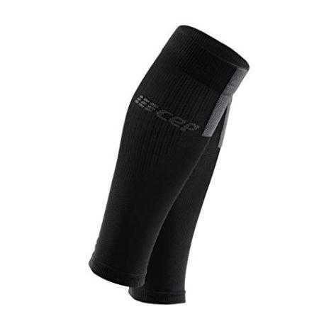 CEP - Calf Sleeves 3.0 für Herren | Beinstulpen für exakte Wadenkompression in schwarz/grau | Größe IV
