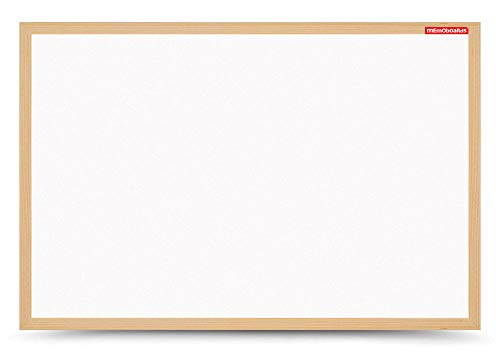 Dry Erase - Lavagna magnetica con cornice in legno, 70 x 50 cm