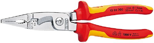 Knipex Electrical Installation Pliers VDE Grips KPX1386200