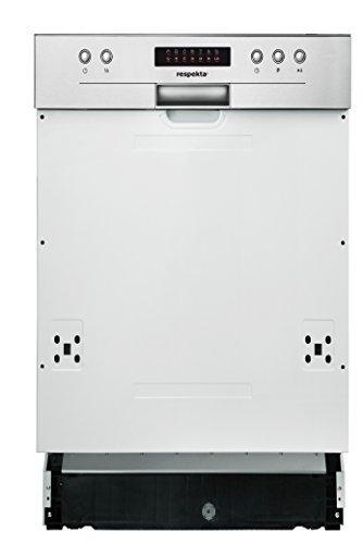 respekta Einbau Geschirrspüler Spülmaschine teilintegriert 45 cm EEKL A++ inkl. Aquastop & LED Display