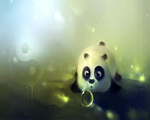 WENYAZ Puzzle per Adulti 1000 Pezzi L'Orso Palla Orso Yin-Yang Bolla Panda Gioco di Puzzle in Legno...