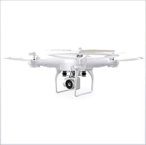 YAMEIJIA RC Drone 4 canali 6 Assi 2.4 G con videocamera HD 2,0 MP 720P RC Quadcopter RC Quadcopter/Remote Controller/Transmmitter/Fotocamera,White