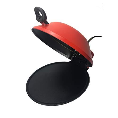 Altema. Forno teglia per cottura Pizza, cottura combinata elettrico + gas. Veloce e robusto. (rosso)