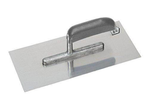 Meister Glättekelle 280 x 130 mm - 4-seitig geschliffen - Rostfreier Edelstahl / Glättkelle / Glättscheibe / Traufel / Edelstahlkelle / 4136900
