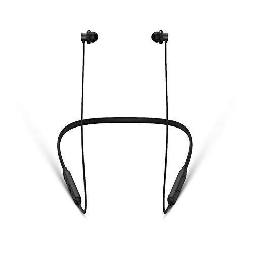 Blaupunkt BE50 IPX5 Neckband Bluetooth Earphone Wireless Comfort fit at 45* with HD Sound and High Sensitivity Mic (Black)