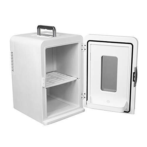 HITSAN INCORPORATION 15L Travel Car Refrigerator 12V Portable Cooler Warmer Electric Mini Camp Can Holder