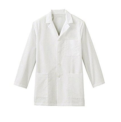 S Protection Unisex Cotton Lab Coat for School and Colleges Students (Medium 38,White)