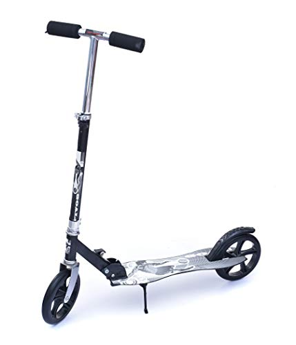 IRIS Scooter for Adult Youth Kids - Foldable Adjustable Portable Ultra-Lightweight | Teen Kick Scooter with Shoulder Strap, Birthday Gifts for Kids 3 Years Old and Above | Support 220 lbs