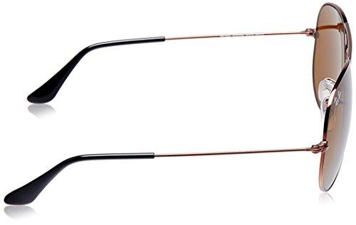 Rayban Aviator Unisex Sunglasses (RB3025 R1072 58 58 millimeters Brown) 0fb35857f2ae