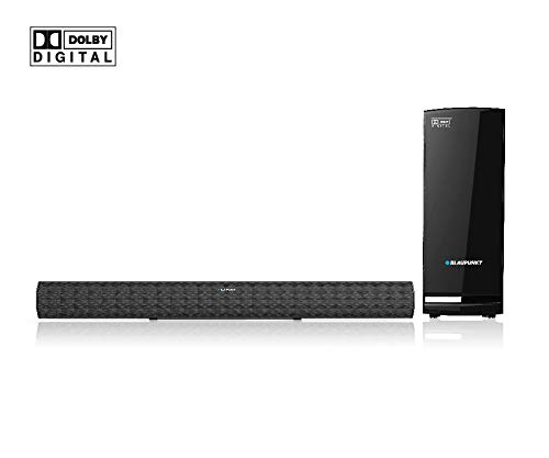 Blaupunkt SBWL-01 Dolby 200Watts Bluetooth Soundbar with Wireless Subwoofer (Black)