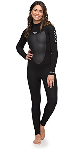 Roxy 2018 Womens Prologue 3/2mm Back Zip Wetsuit Black ERJW103040 Womens UK Size - 18
