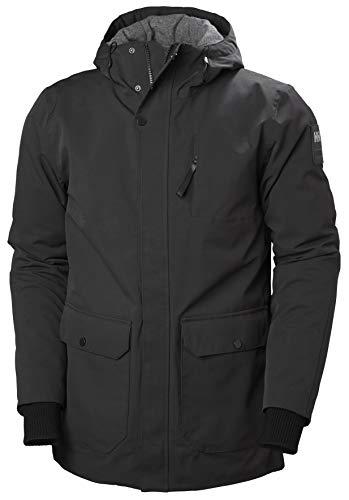 Helly Hansen Urban Long Jacket, Parka Uomo, Nero, M