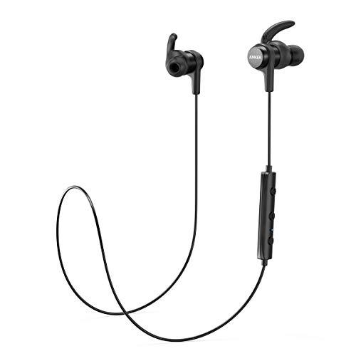Anker Bluetooth Kopfhörer SoundBuds Flow in Ear magnetisches Headset, mit Wasserschutzklasse IPX5/7-Stunden-Spielzeit/Mikrofon, federleicht für iPhone, iPad, Samsung, Huawei, HTC und mehr