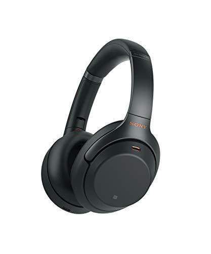 Sony WH-1000XM3B - Auriculares de Diadema inalámbricos (Bluetooth, Hi-Res Audio, Noise Cancelling, Sense Engine, Asistente de Voz, 30h de autonomía de batería) Color Negro
