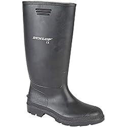 Dunlop - bottes en caoutchouc homme - wellies - noir UK6 EU40