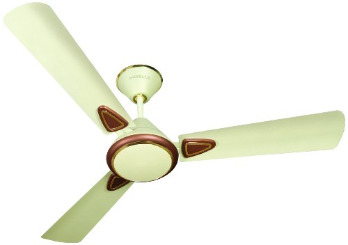 Havells Fusion 2 900mm Matte Finish Ceiling Fan (Pearl Ivory and Brown)