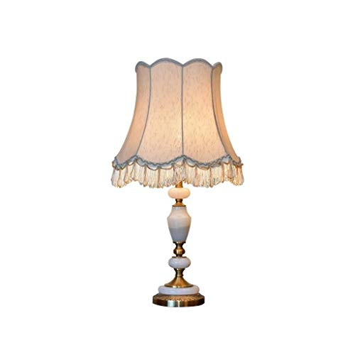 YANGXIAOJUAN Lampada da Tavolo, Moderno Minimalista Jade Lampada da Tavolo Neo-Classico Hotel Master...