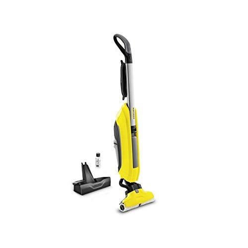 Lavasciuga pavimenti 2 in 1 KARCHER FC5 460W con spazzola in microfibra 30 cm, serbatoio 400ml,...