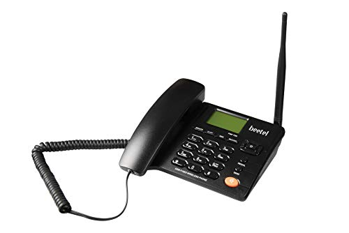Beetel F2N Dual SIM GSM Fixed Wireless Phone (Black)
