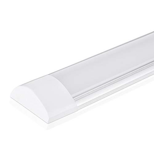 Lampada da soffitto a LED da 40W a luce 120CM, con 4800LM in bianco neutro 4000K Luce a stecca,...