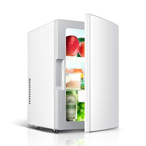 Frigorifero per Auto, 18l Mini Frigo Congelatore 12v / 220v Refrigeratore Elettrico Portatile E...