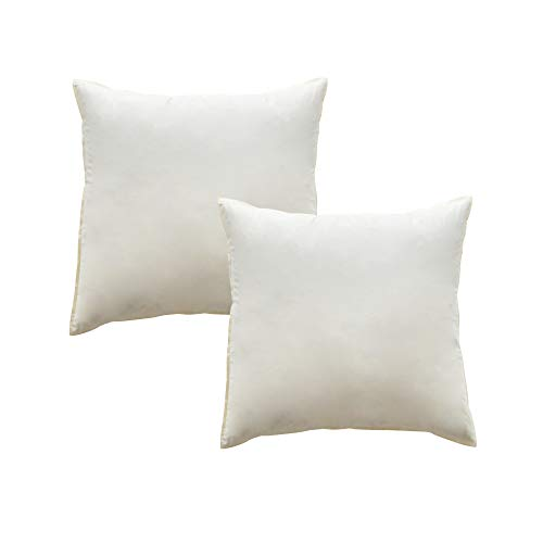 Mack 2 cuscini di piume 45 x 45 cm