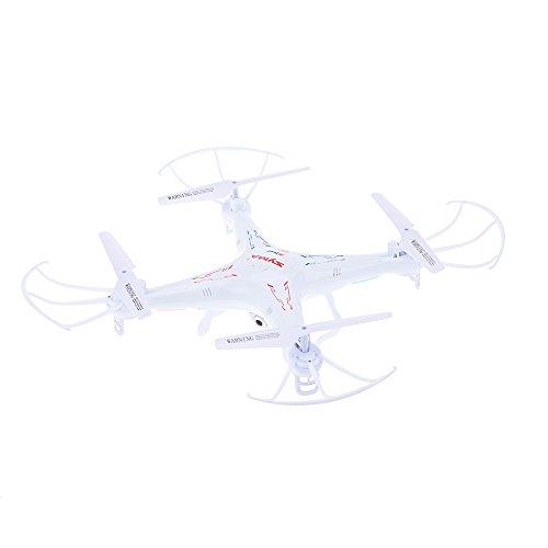 Syma X5C Explorers 2.4G 4CH RC Quadcopter con Girosco/Flash Lights, A 360 Gradi Elicotteri 3D con HD...