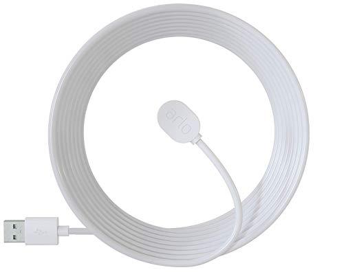 31wW6r3uWeL [Bon plan Arlo !  Arlo VMA5600C Accessoires Ultra et Pro 3 - Câble de Recharge Magnétique d'Extérieur 7,6m