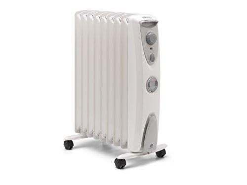 Lightweight and easy to use, the Dimplex OFRC20TiN 2Kw Electric Oil Free Column Heater promises to heat up your room 30% faster. Compared to other models in the market that use oil-filled systems, this oil-free model will offer 15% more efficiency in energy use and heat up your conservatory faster.