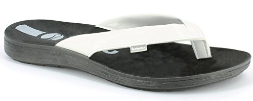 inblu Infradito Ciabatte da Uomo MOD. VA-16 Bianco Flip Flop (44)