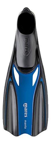 Mares 410333, Pinne Unisex - Adulto, Riflesso Blu, 42
