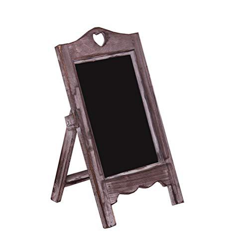 Vosarea - Mini lavagne in legno con pannelli di segnalazione in legno, per negozio, ristorante,...