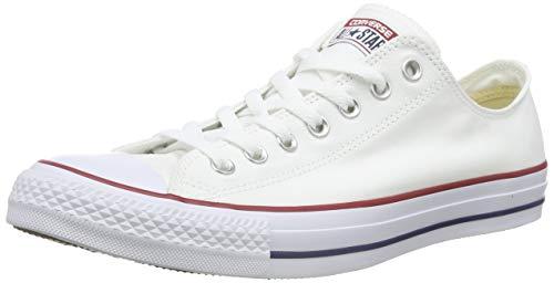 Converse Unisex-Erwachsene Chuck Taylor All Star-Ox Low-Top Sneakers, Weiß (Optical White), 39.5 EU