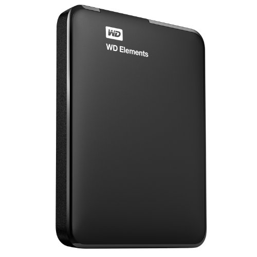 Western Digital Elements WDBUZG7500ABK-EESN Portable Hard Disk Esterno, USB 3.0, 750 GB