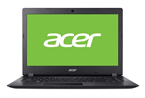"Acer Aspire 1 | A114-32 - Ordenador portátil de 14"" HD (Intel Celeron N4000, 4 GB RAM, 64 GB eMMC, UMA, Windows 10 Home con S Mode & Office 365 Personal) Negro - Teclado QWERTY Español"