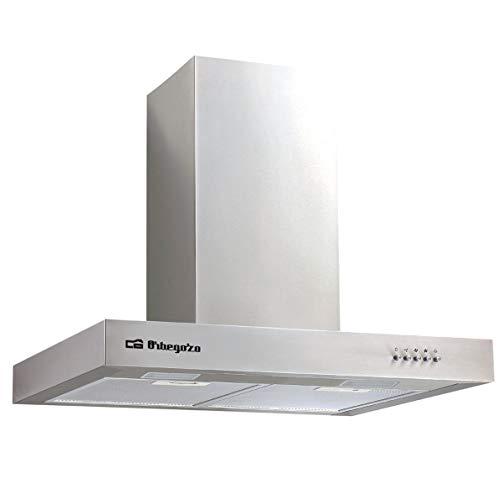 Orbegozo DS 56170 B IN - Cappa aspirante 70 cm, in acciaio inox, capacità di estrazione 647,3 m3/h,...
